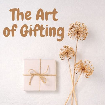 art of gifting>The gift market, like any other market, is constantly transforming to meet the values of society.<span class=