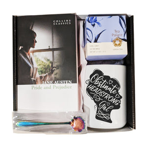Pride and Prejudice and Tea Gift Set