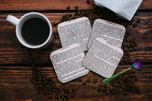 Jane Eyre Coaster Set