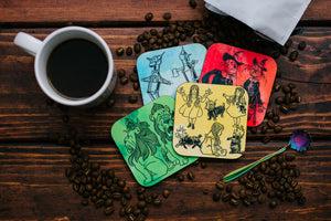 The Wonderful Wizard of Oz Coaster Set