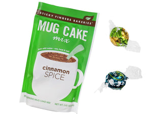 Custom Cinnamon Spice Mug & Cake Mix