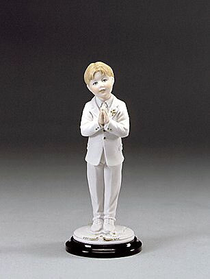 First Communion Boy by Giuseppe Armani - 1195C