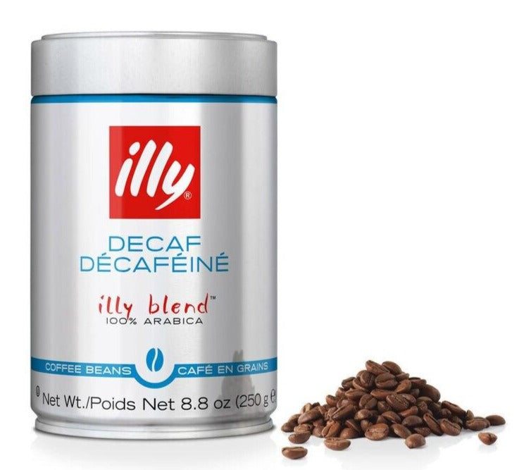 illy - Decaf Roast Beans - 8.8oz Can