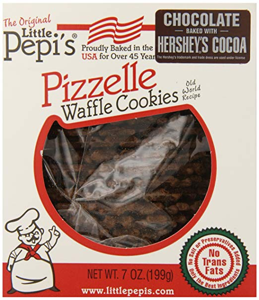 Little Pepi's - Pizzelle Chocolate Waffle Cookies - 256g (9 oz)