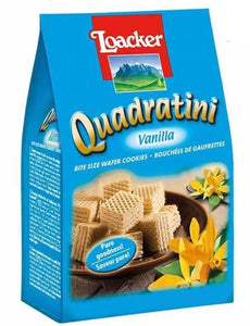 Loacker - Quadratini Vanilla Wafers - 250g (8.82oz)