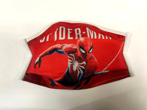 Face Masks for Children (Made in Italy) - Spider Man
