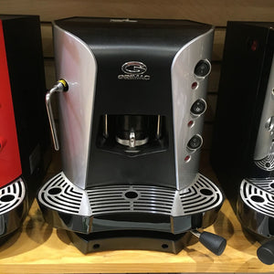 Grimac Terry Opale Espresso Machine with steam wand (Silver/Black)