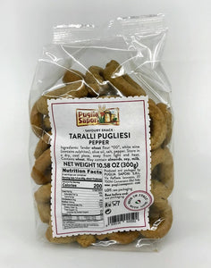 Puglia Sapori - Taralli with Pepper - 300g (10.58 oz)