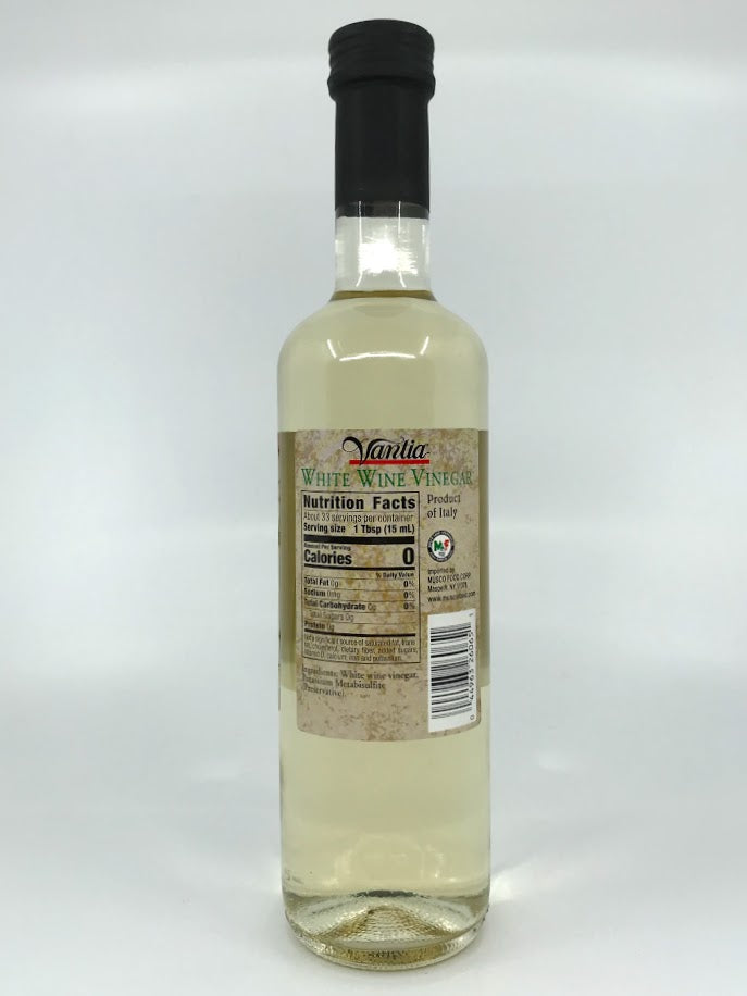 Vantia - White Wine Vinegar - 500ml (16.9 oz)