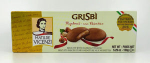 Vicenzi - Grisbi Biscuits with Hazelnut Filling - 150g (5.29oz)