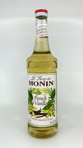 Monin - French Vanilla Syrup - 25.4 oz