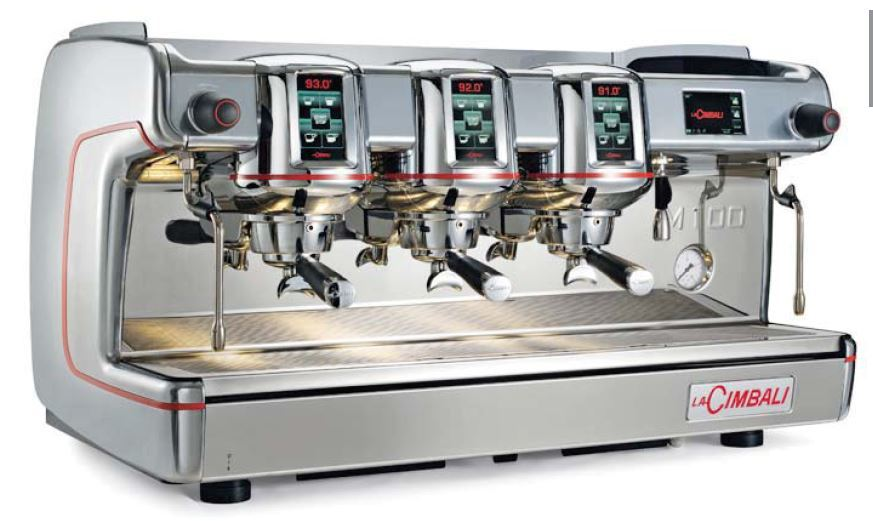 La Cimbali M100 HD Traditional Espresso Coffee Machine - 3 Group - DT/3