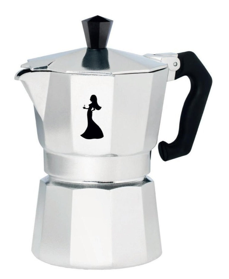 Sophia - Stove Top Espresso Coffee Maker - ( 3 Cup)