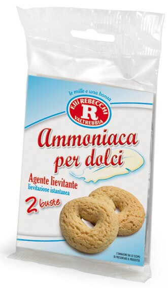 Ammoniaca per Dolci - 2 packages