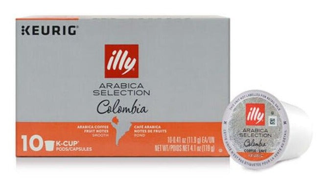 illy - Keurig K-Cups Arabica Selection (Colombia) - 10 K-Cup