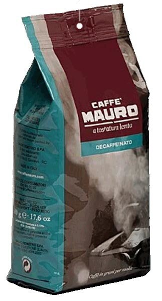 Mauro - Decaffeinato - Espresso Beans - 1.1 lb Bag (Best by Date: 10/2020)