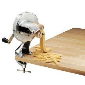 Cavattelli Maker with wood rollers