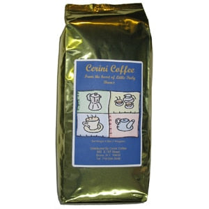 Cerini Coffee - House Blend - Espresso Whole Bean - 2.2 lb Bag