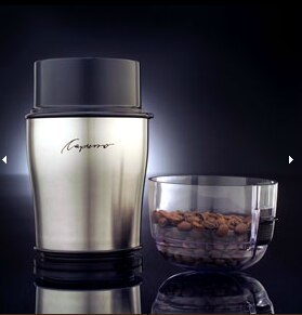 Capresso Cool Grind Stainless Steel Coffee Grinder