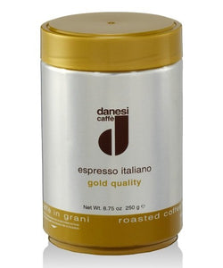 Danesi Gold 250g Whole Beans in a Can