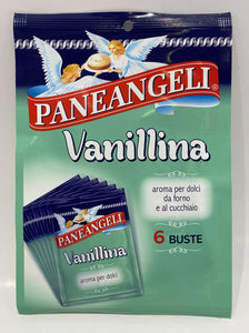 Paneangeli - Vanillina - 6 Packets - 0.10 oz Each