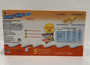 Kinder - Happy Hippo White - Milk and Hazelnut - 200g