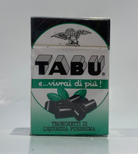 Load image into Gallery viewer, Tabu liquirizia in boxes - 30gr (1.1oz)