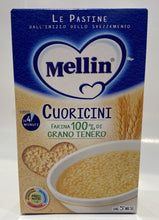 Load image into Gallery viewer, Mellin - Le Pastine Cuoricini - 320 g
