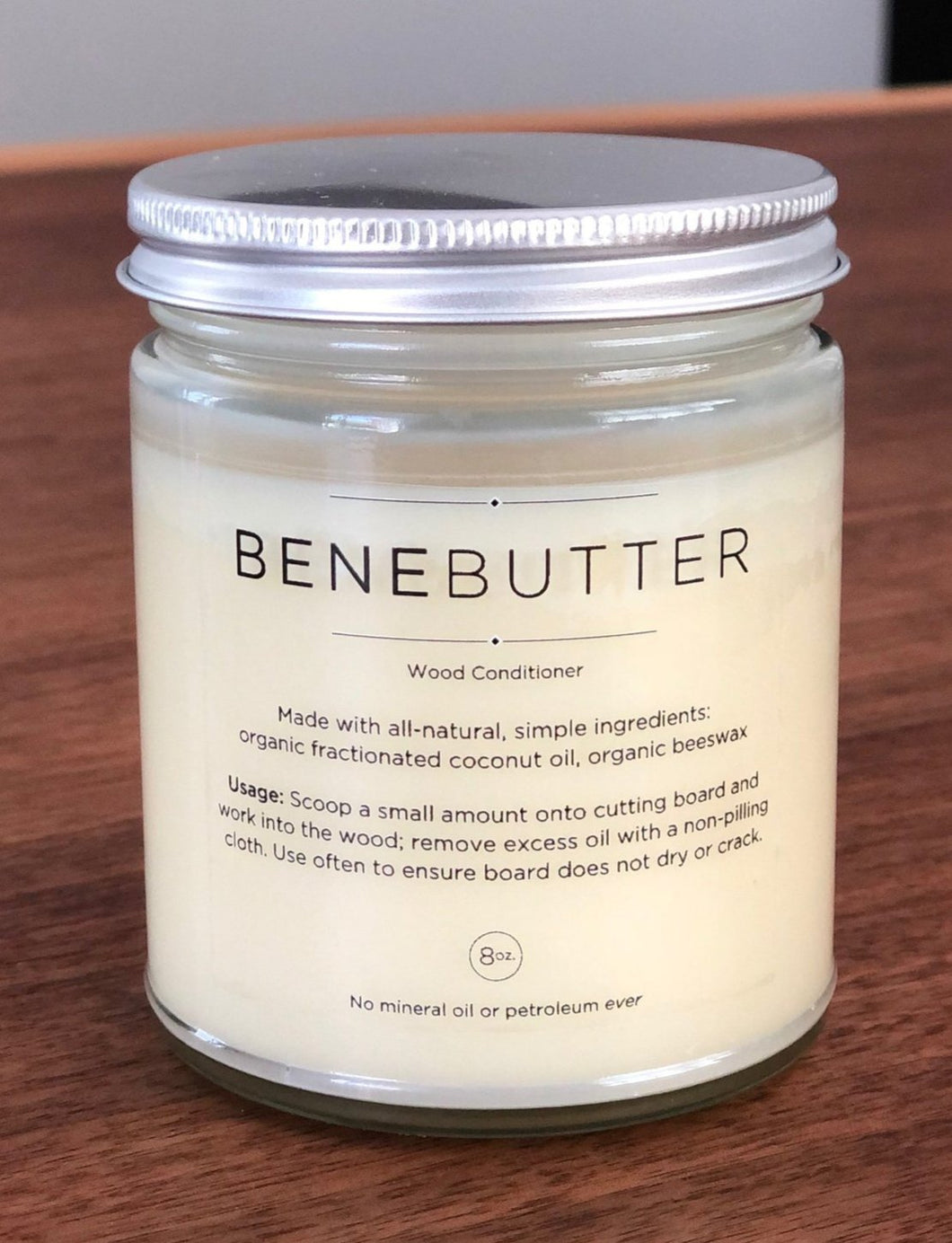 BeneButter Wood Conditioner for Cutting Boards (8 oz.)