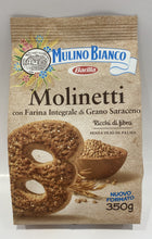 Load image into Gallery viewer, Mulino Bianco -  Molinetti Whole Wheat Biscuits - 12.35 oz