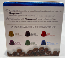 Load image into Gallery viewer, Miscela d'Oro Espresso Decaf Capsules - 10/Bag - Compatible with Nespresso® Machines