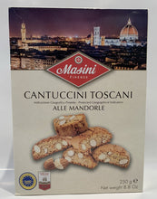 Load image into Gallery viewer, Masini Firenze - Cantuccini  Toscani - Alle Mandorle - 250g (8.8 oz)