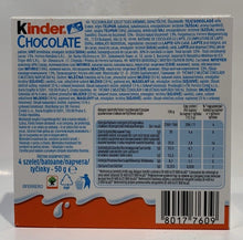 Load image into Gallery viewer, Kinder - 4 PK - 50g