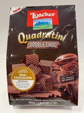 Load image into Gallery viewer, Loacker -Quadratini Double Choc Wafers - 250g (8.82oz)