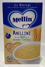 Load image into Gallery viewer, Mellin - Le Pastine Anellini - 320g