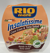 Load image into Gallery viewer, Rio Mare - Tuna salad w/cous cous - 5.64 oz (Date: Dec 05 2020) (25% off)