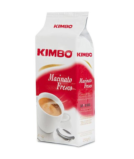 Kimbo Macinato Fresco Brick - Dark Roast 250g