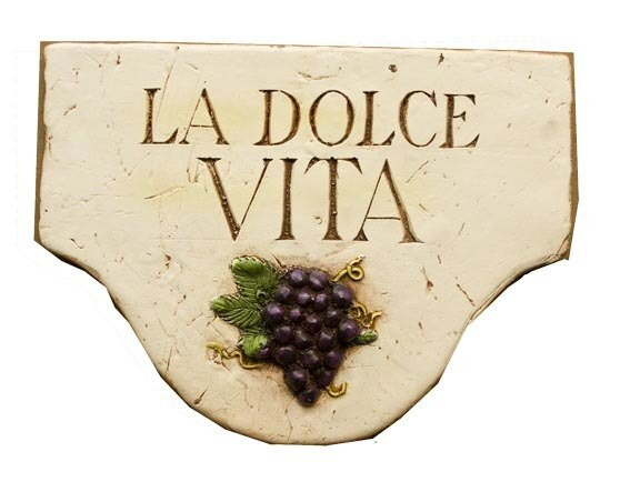 La dolce Vita - Wall Plaque