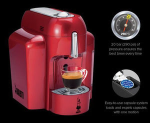 Bialetti - Mini Express - Capsule Machine (Discontinued) (Red)