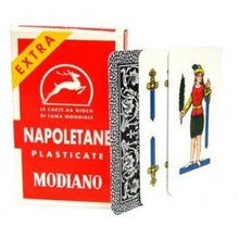 Load image into Gallery viewer, Modiano - Napoletane Playing Cards