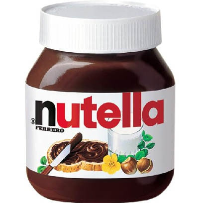 Nutella Large  (800 gr Glass Jar) MADE IN ITALY