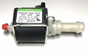 ULKA Pump Model EFP5 ~120v 60hz 2/1 minutes, 52W, for Breville Espresso - FREE 2ND DAY SHIPPING