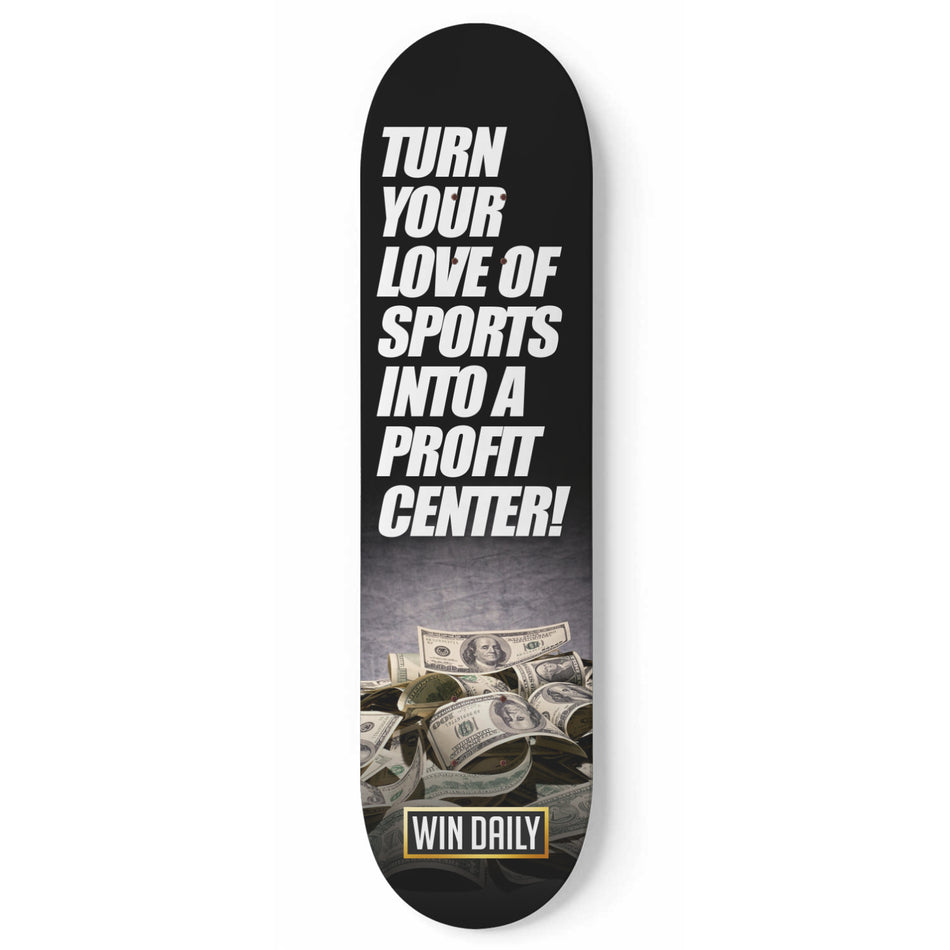 WinDailySports Skateboard Art