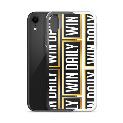 Win Daily iPhone Case
