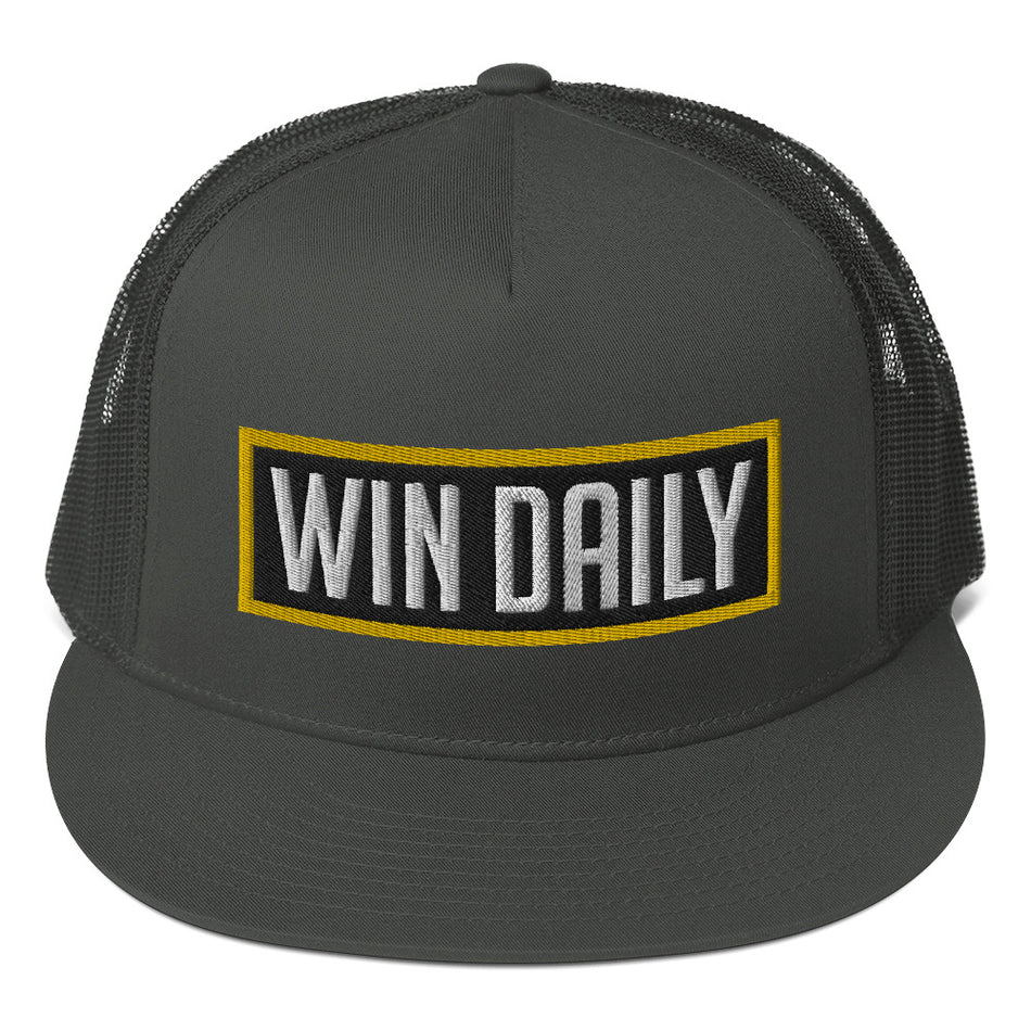 Win Daily Mesh Back Snapback