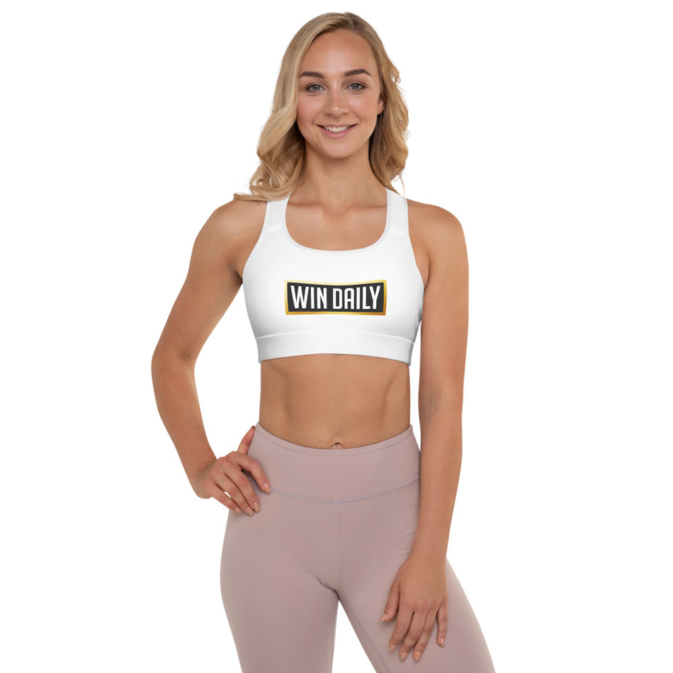 Win Daily Padded Sports Bra