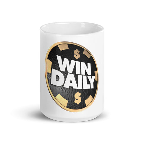 Win Daily Chip Mug