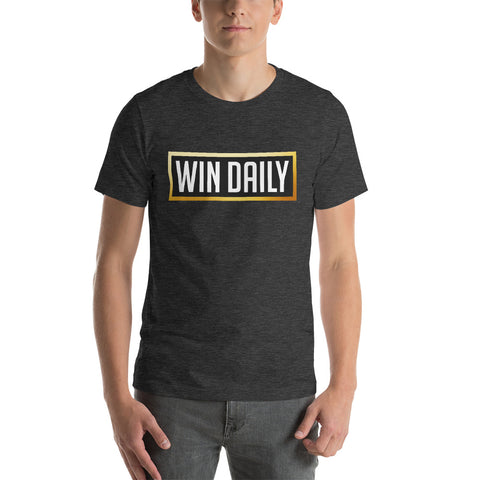 Win Daily Short-Sleeve Mens T-Shirt