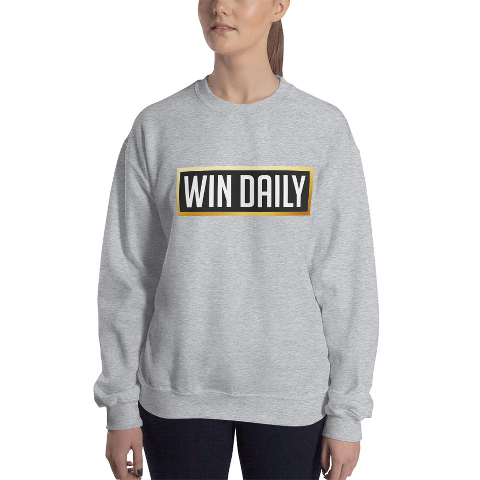 Win Daily Women's Sweatshirt