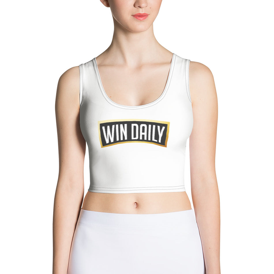 Win Daily Sublimation Cut & Sew Crop Top